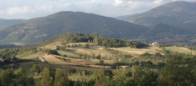Beautiful landscapes of Umbria